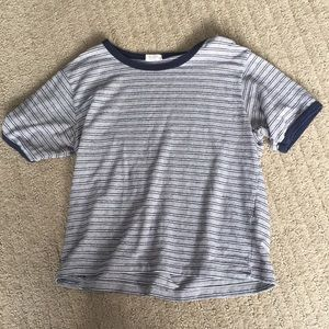Brandy Melville Striped Ringer Tee